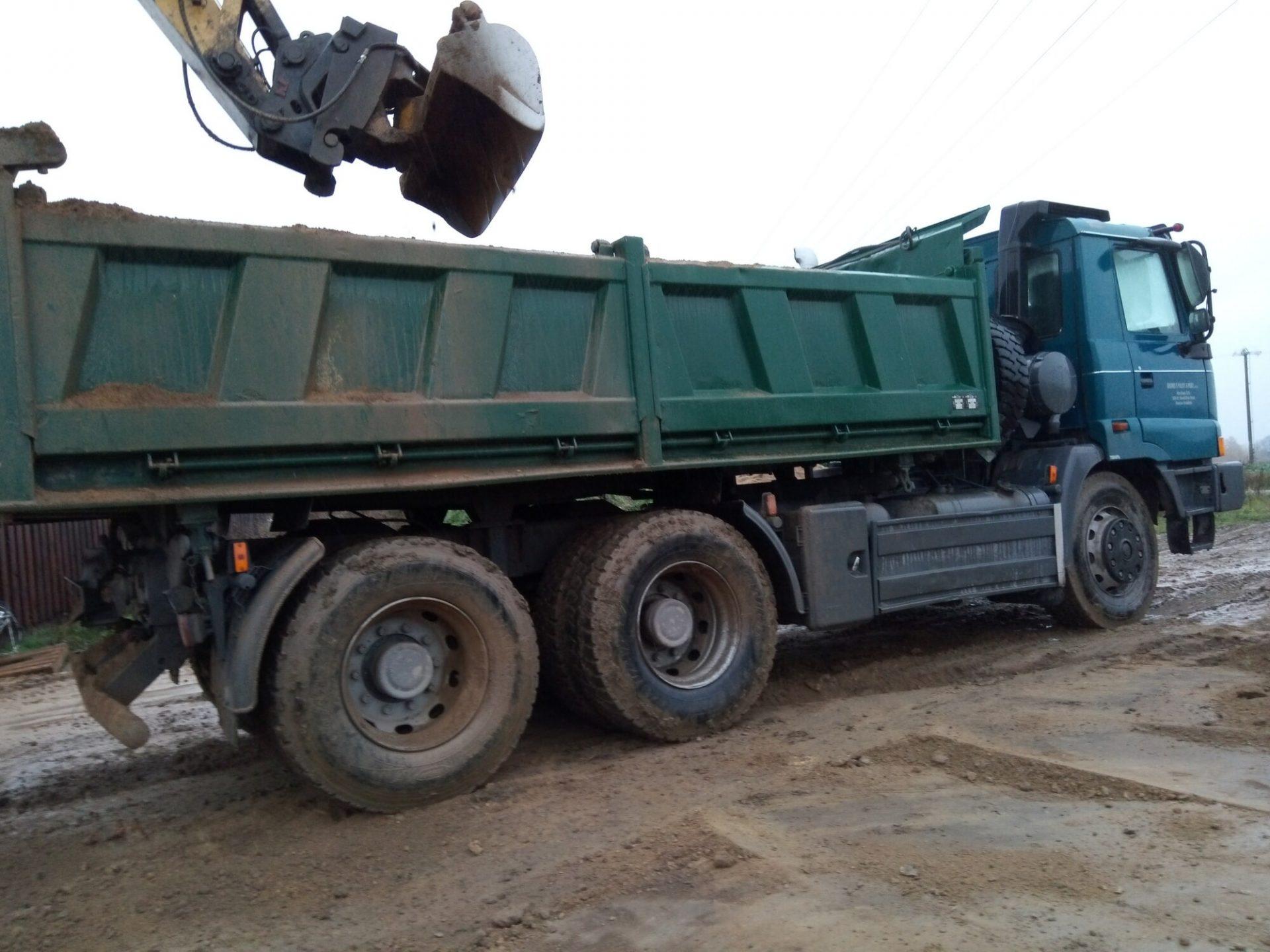 Obchod s palivy a písky, s.r.o. | Zemní práce | Havlíčkův Brod